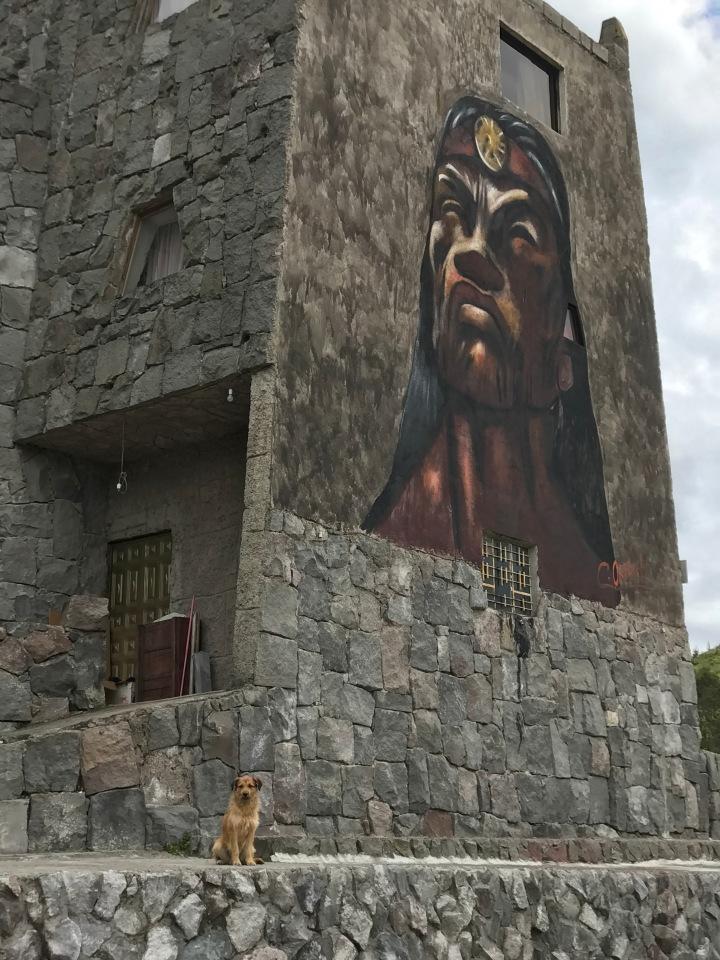Museo Templo del Sol Pintor Cristobal Ortega Maila