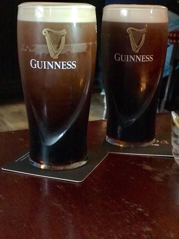 Guinness in Dublin, Ireland